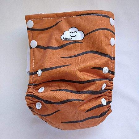 Fralda Ecológica Toddler - Tigrão