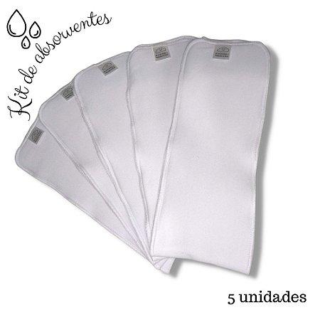 Kit 5 Absorventes Linguetas