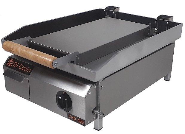 Chapa Bifeteira Di Cozin a Gás CHD-400 - de Bancada - Prensa Pão