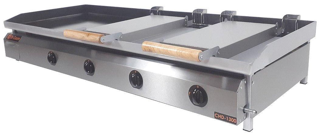 Chapa Bifeteira Di Cozin a Gás CHD-1300 - de Bancada - Prensa Pão Duplo