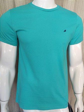 Camiseta Azul Claro Gola Redonda Enfim
