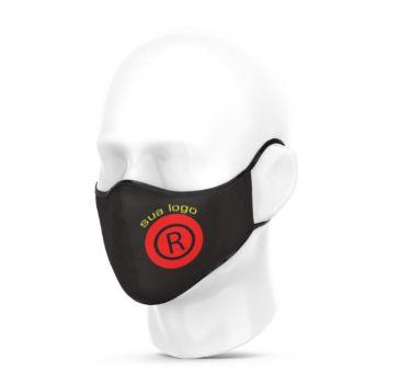 Kit 10 Mascara Respiratoria Personalizada Algodão Tema Logo