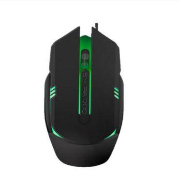 Mouse Gamer Optico RGB  AOAS V05 PRETO USB