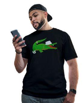Camiseta Lacoste Masculina Algodão Manga Curta Camisa Lacoste T-shirt