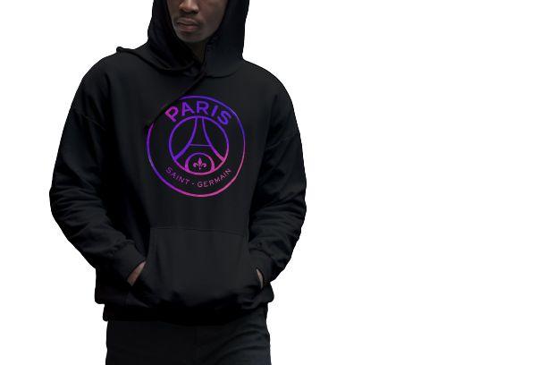 Moleton Canguru Blusa De Frio Psg Paris vazado Unissex