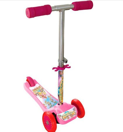 Patinete Scooter Net Mini Princesas Rosa - Zoop Toys