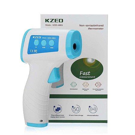 Termômetro Laser Digital Infravermelho Febre De Testa Corpo