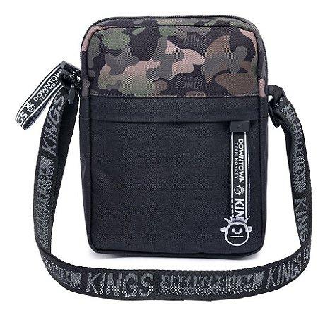 Shoulder Bag Bolsa Transversal Kings Militar Original Moda
