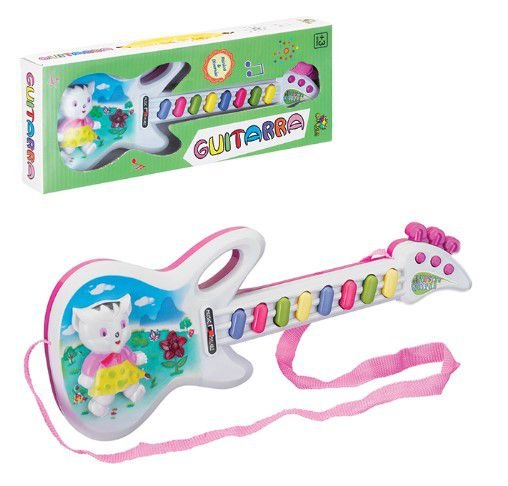 Guitarra infantil animada - Art Brink