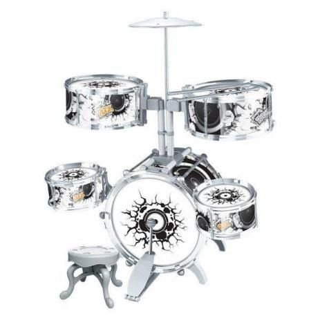 Bateria infantil Musical Rock Party Dmt-5367