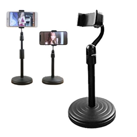Pedestal Para celular e Microfone Youtuber Ajustavel