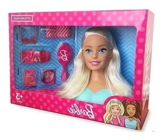 Boneca Barbie Styling Head  Grande Cabeça Cabeleleira Mattel