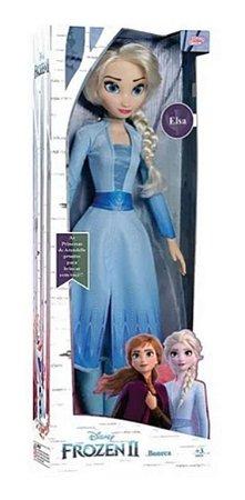 Boneca Frozen 2 - Elsa - Disney - 55cm - Original Baby Brink