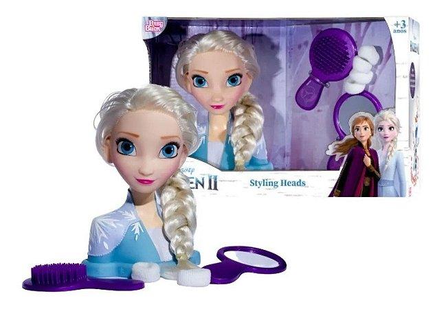 Brinquedo Disney Frozen 2 Styling Heads Elsa Baby Brink 2040