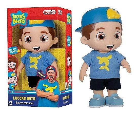 Boneco Luccas Neto Original Baby Brink