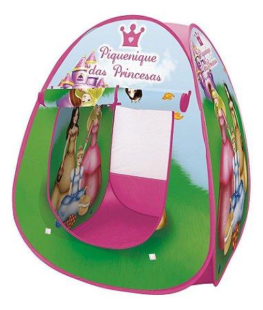 Barraca Meninas Princesas Infantil Desmontável Piquenique