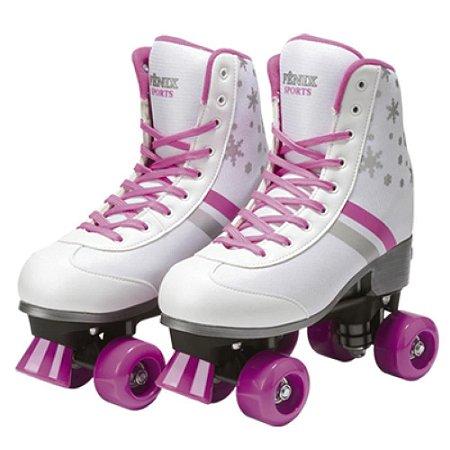 Patins Roller Infantil 4 Rodas - 3 Tamanhos Com Ajuste 31-42