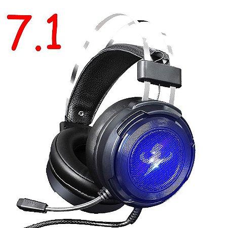 Fone de ouvido gamer Misde G5s 7.1 preto