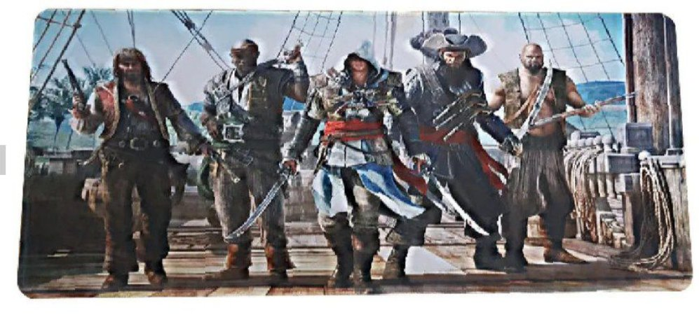 Mouse Pad Gamer Extra Grande 70cm Assassin's Creed