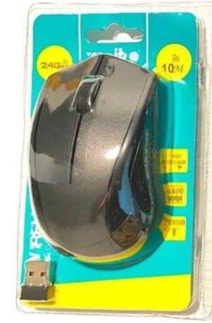 Mouse Optico Sem Fio Wireless Usb 2.4ghz Computador Weibo 3200dpi