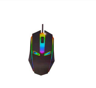 Mouse Gamer Usb Optico Sensor Laser Para Jogos Computador Gamer Rgb 1200 Dpi DW-01