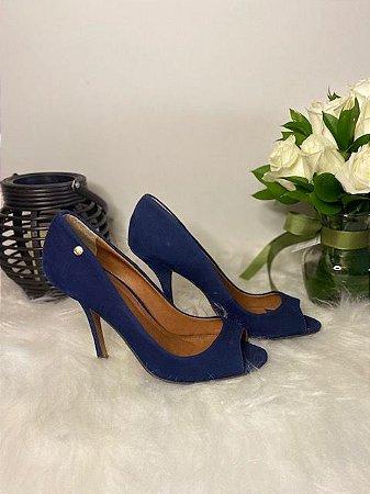 Peep Toe Azul Marinho My Shoes