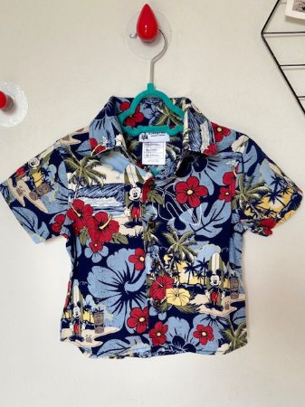 Camisa Floral Disney