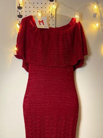 Vestido Longo Vermelho TVZ