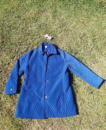 Casaco Azul Matelassê