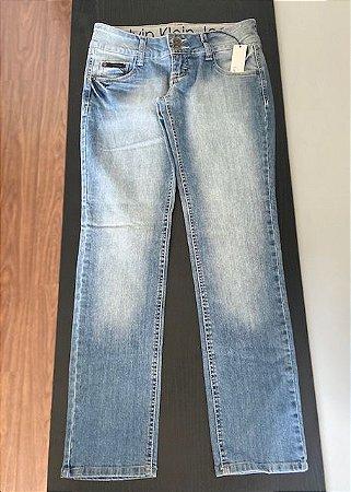 Calça Jeans Cintura Baixa Calvin Klein