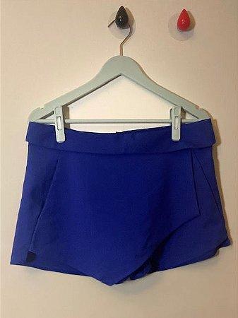 Short Saia Azul Zara