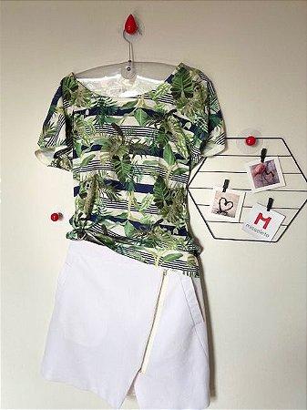 T-Shirt Estampada Cori
