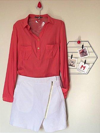 Camisa Coral Calvin Klein
