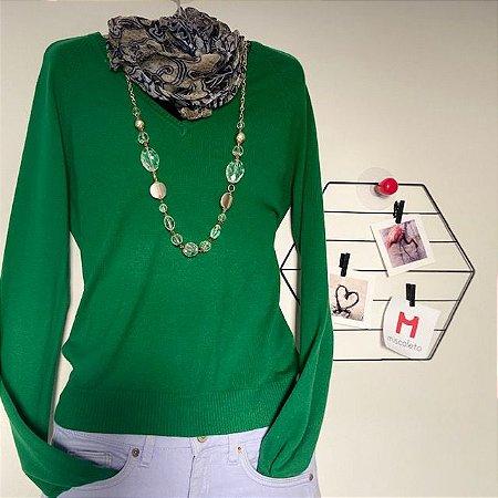 Suéter Verde Zara