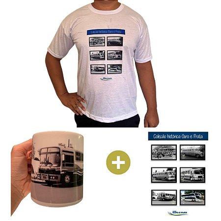 Série Histórica 1980 (1 Camiseta + 1 Poster + 1 Caneca Carro 1980)