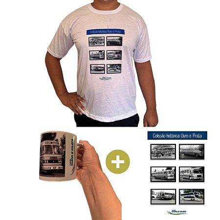 Série Histórica 1960 (1 Camiseta + 1 Poster + 1 Caneca Carro 1960)