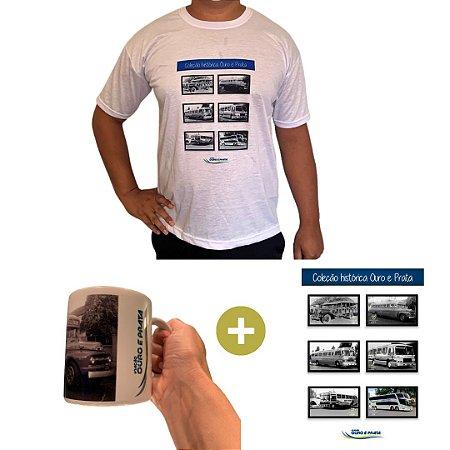 Série Histórica 1950 ( 1 Camiseta + 1 Poster + 1 Caneca Carro 1950)
