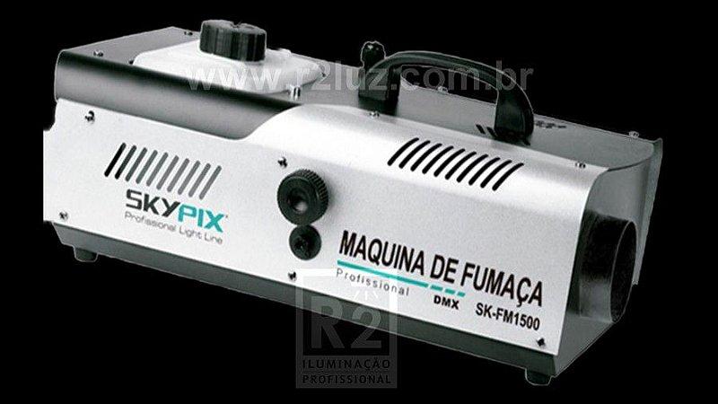 MÁQUINA DE FUMAÇA 1.500W DMX 220V SKYPIX