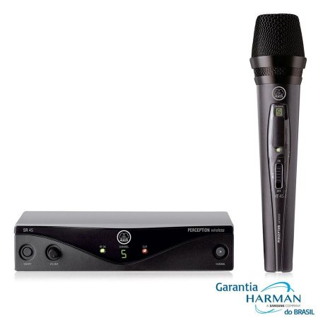 MICROFONE SEM FIO UHF PW-45 VOCAL SET B1 - AKG