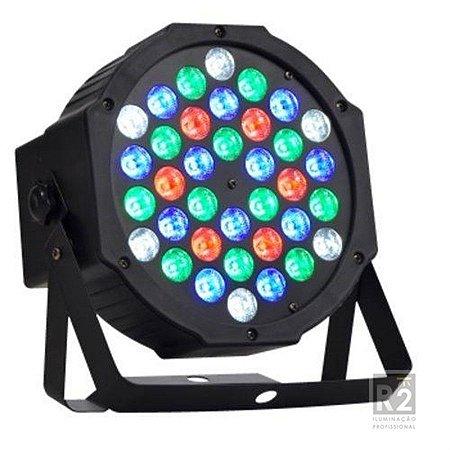 REFLETOR 36X1W LEDS RGBW BIVOLT