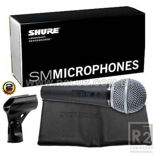 Microfone Vocal Sm48 Lc Shure
