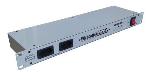 Distribuidor de tensão 8 tomadas NBR WPD Wireconex