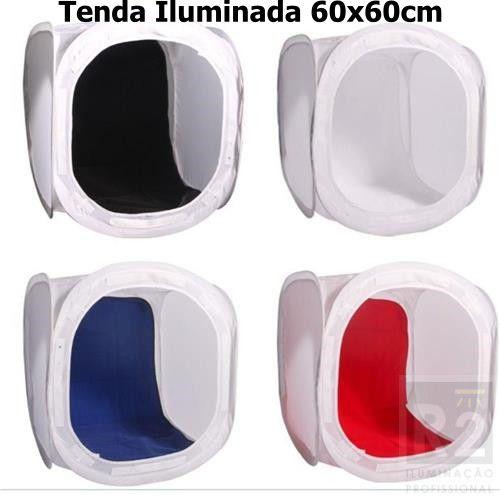 TENDA DE ILUMINAÇÃO P/FOTO 60X60CM GREIKA