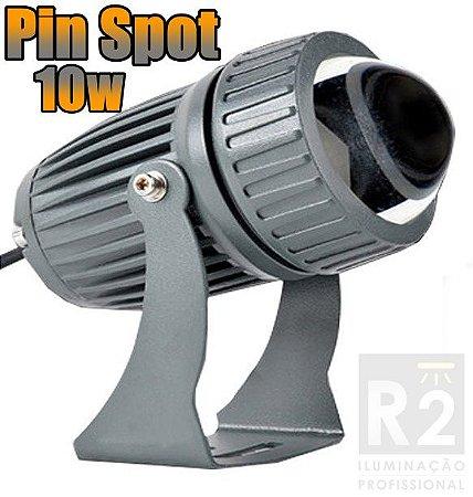 Refletor LED 10W Decorativo Foco Fechado IP65