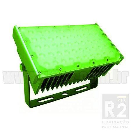 Refletor 50w Led IP68 Verde