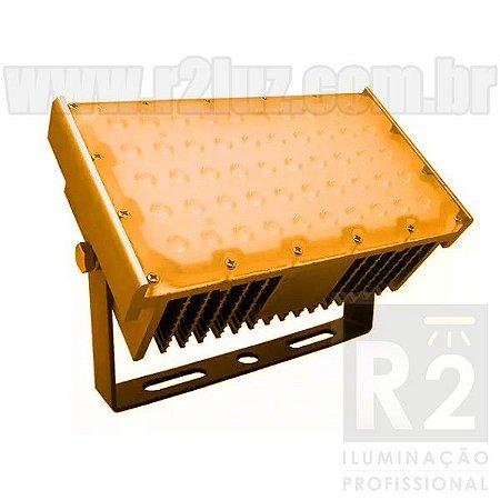 Refletor 50w Led IP68 Âmbar
