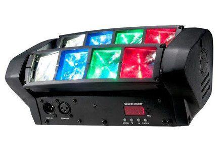 MINI SPIDER 8X3W LED RGBW