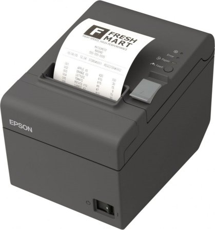 Impressora Cupom TM-T20 Cinza Escuro Ethernet - Epson
