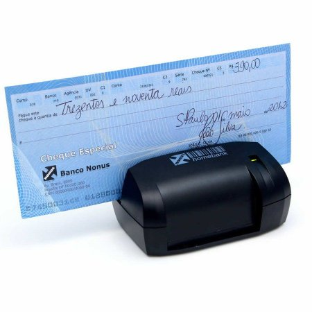 Leitor de cheques e boletos bancários HomebanK 10 - Nonus