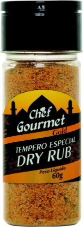 TEMPERO ESPECIAL DRY RUB 60G CHEF GOURMET